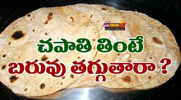 Chapati weight loss