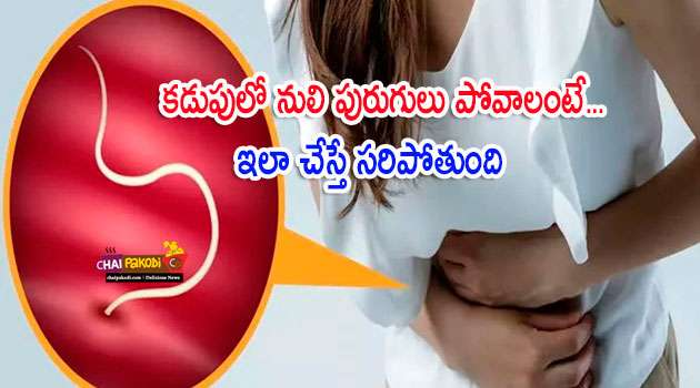 Home remedy for reduce worms in stomach