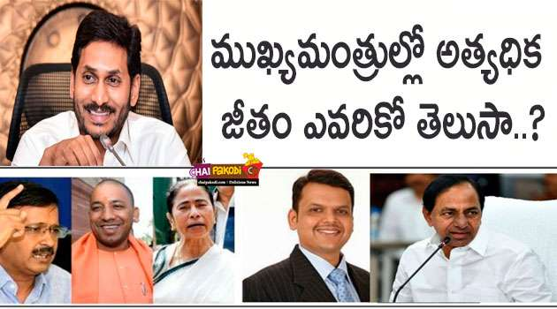 Chief Ministers Salary