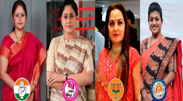 Tollywood Actress Who Success in Politics