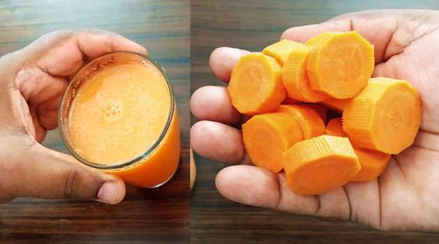 Carrot Weight Loss Drink