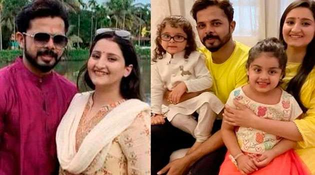 Cricketer srishanth wife Facts