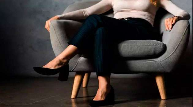 Avoid sitting with your legs crossed