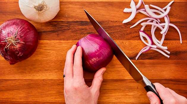 How to cut onions without crying In Telugu